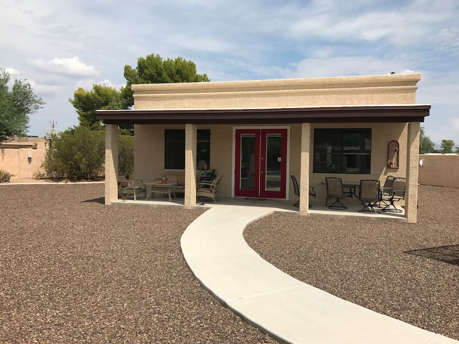 Separate from main house on 1 acre property