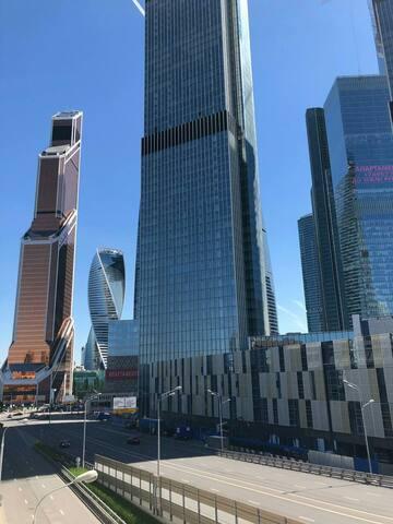 Апартаменты рядом с Москва-Сити