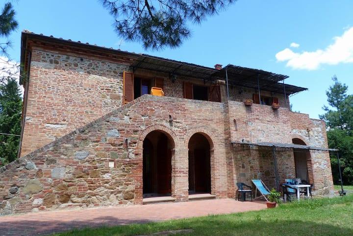 The estruscan home, lodging Leccio