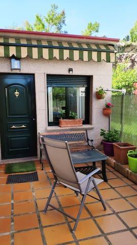 Charming cozy apartment in a Ribeira Sacra village