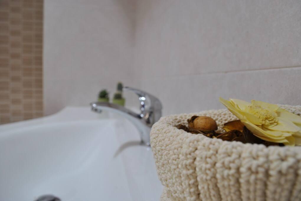 Trullo bagno - lavello