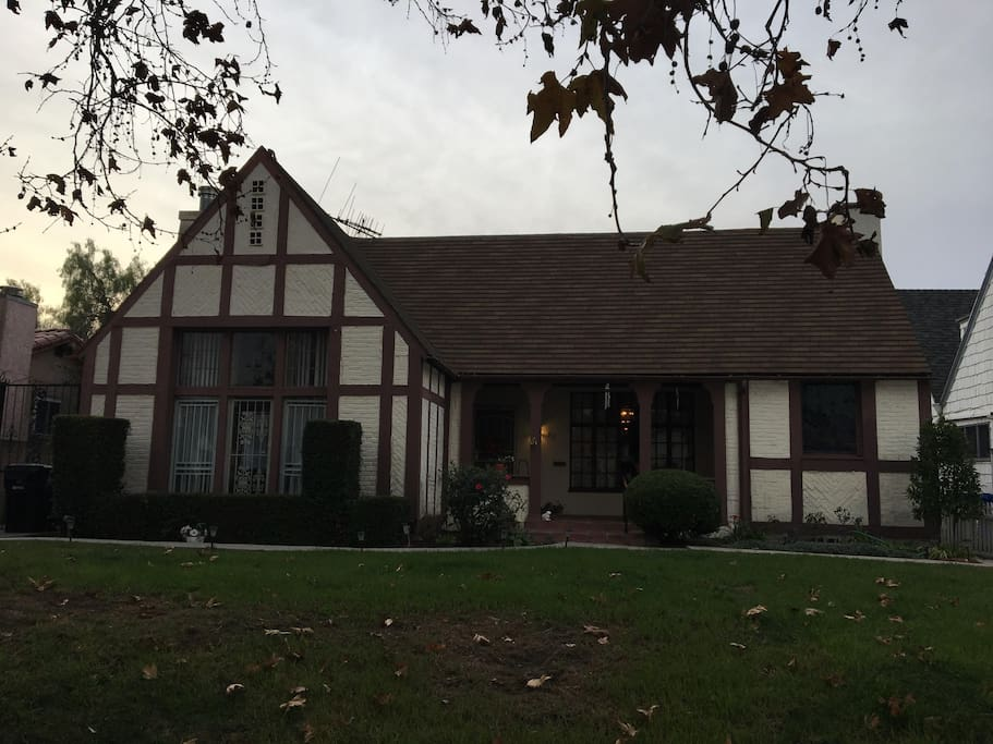 gorgeous 1925 English Tudor with your own side entrance to your private bedroom and bath