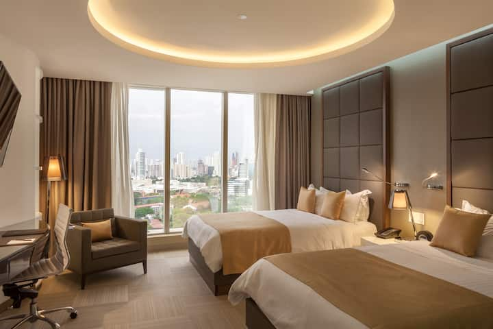 Golden Tower  double Deluxe room !