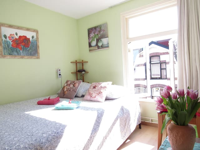 Private nice room,  Alkmaar station close t center