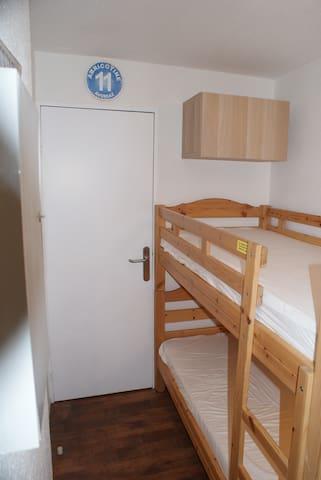 cabine fermée et indépendante pour l'intimité de chacun