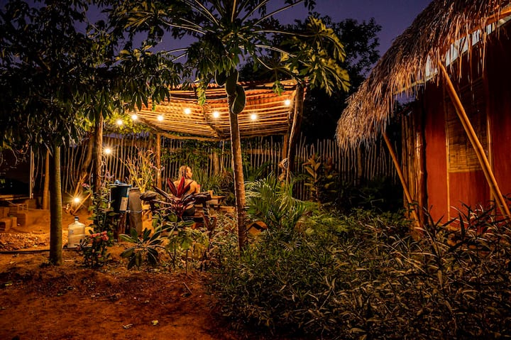 Casa La Aventura, Bamboo House, Guasacate, Popoyo