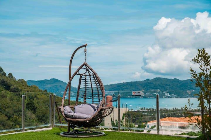 芭东豪华海景三卧室泳池别墅Patong beach 3bed seaview villa
