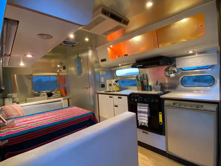 The Zoo- Airstream in the heart of Terlingua