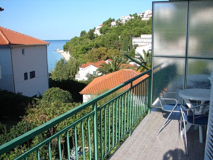 Apartment Eddie - 80m from the sea A2(2+1) Baska Voda, Riviera Makarska