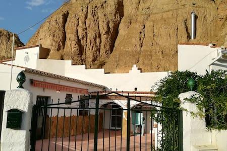 Casa  Cueva  El Algarrobo un lugar mágico