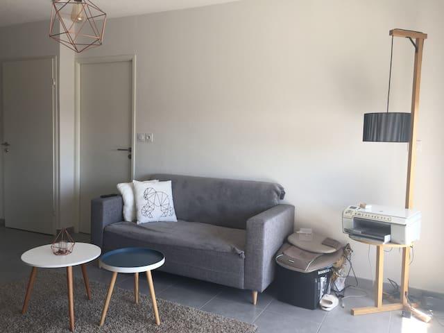 Cosy appartement pour 2 à Montpellier - Montpellier - Apartment