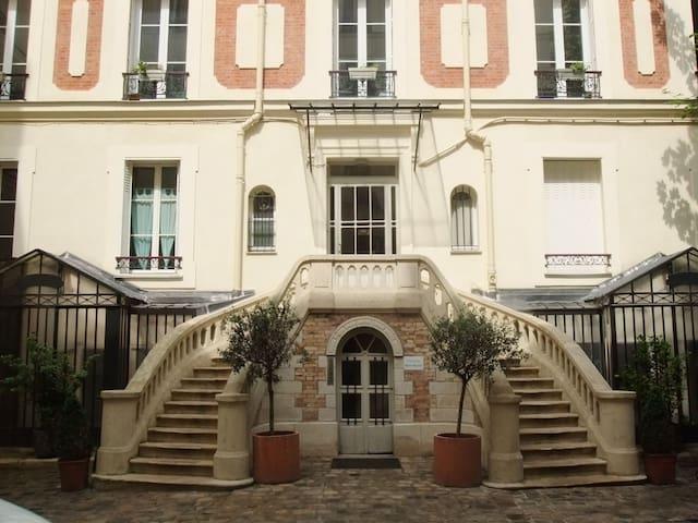 Chambre d'hôtes dans hôtel particulier - Paříž