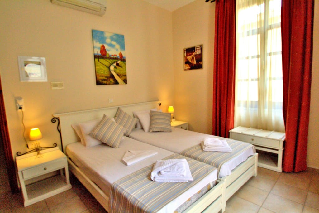 Full of light twin beds bedroom