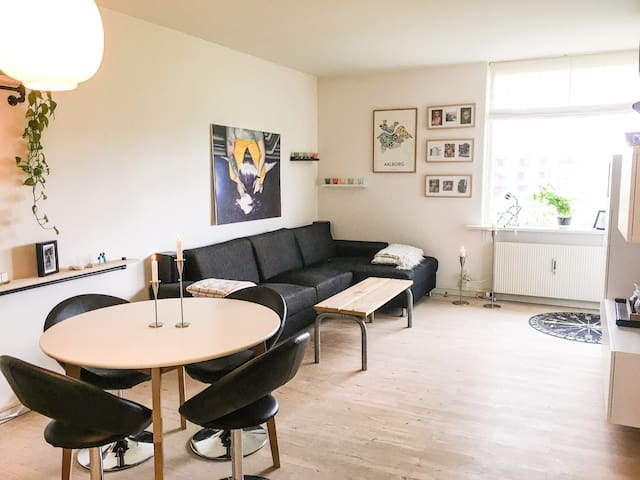 Nice and cozy family apartment in south Aalborg
