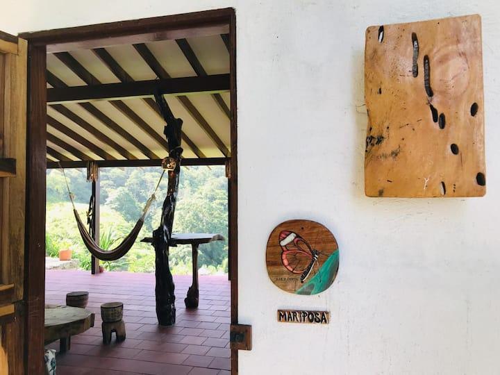 Mariposa -Mundo Nuevo Eco Lodge Minca