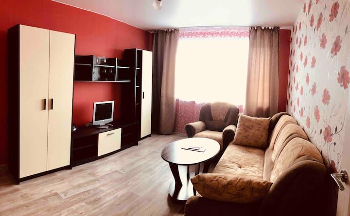 Уютная, светлая квартира для отдыха в Ярославле