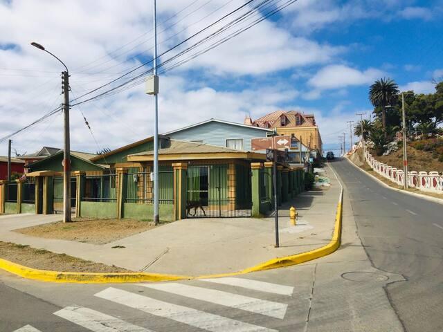 Habitación Cuádruple en Green House Pichilemu