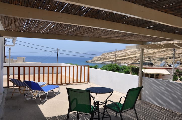 view matala caves apartment - Matala