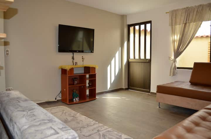 Apartment muy cómodo, dúplex ideal para familias.