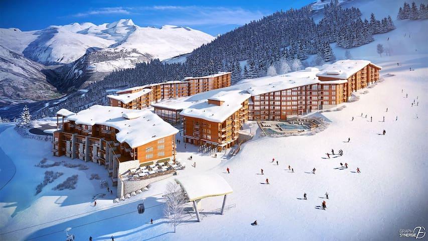 Appartement Prestige 4*  aux Arcs 1800 ski au pied