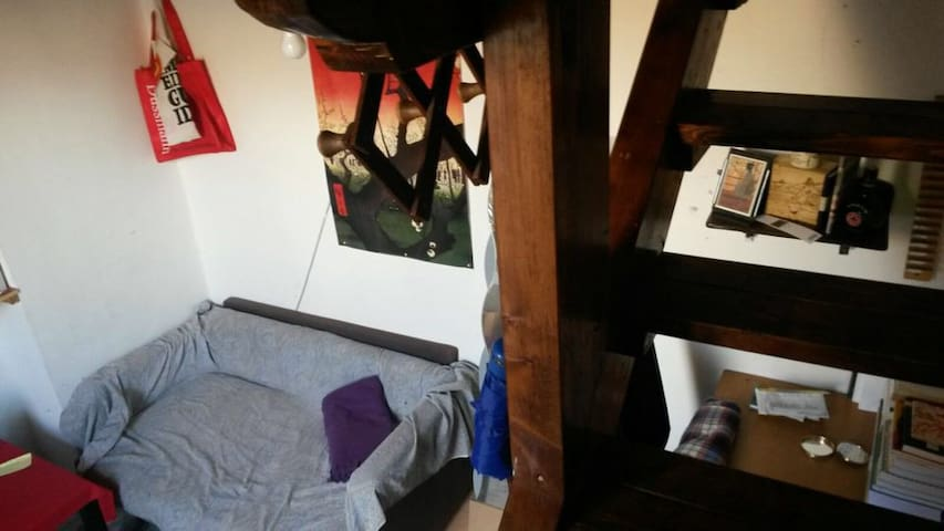 Double bed room - Historic Center - Neapel - Wohnung