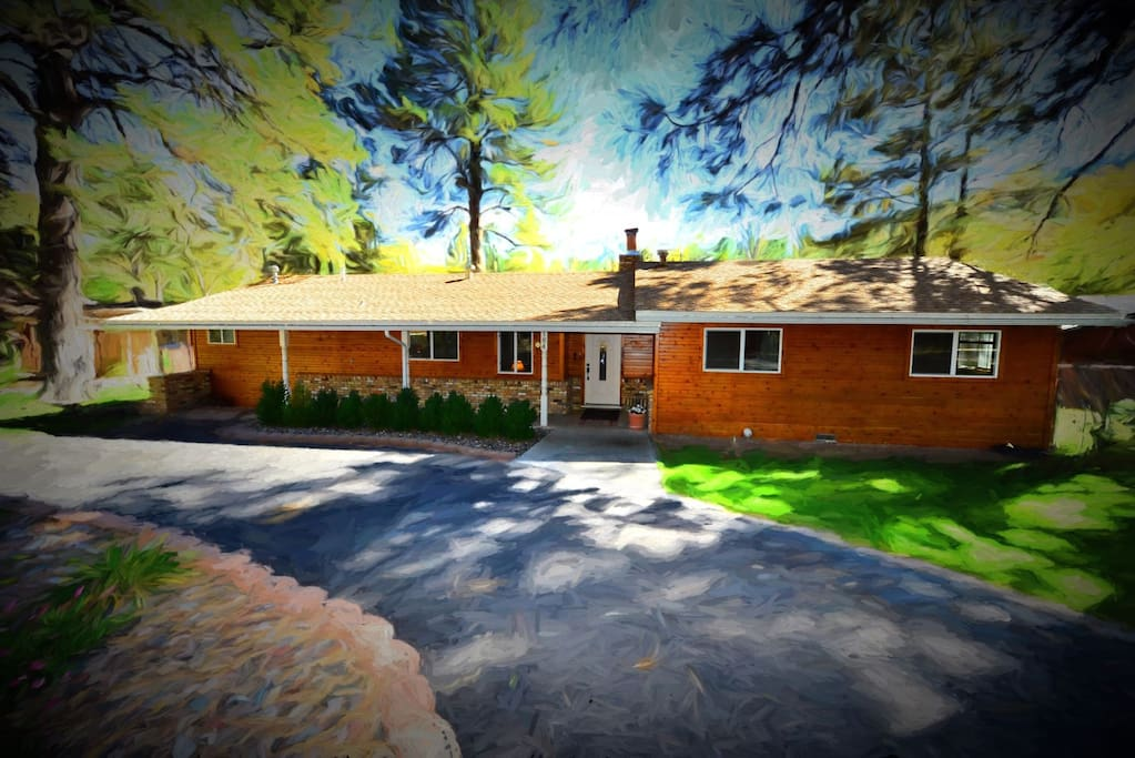 Rivers edge cabin cabins for rent in ruidoso new mexico for 6 bedroom cabins in ruidoso nm