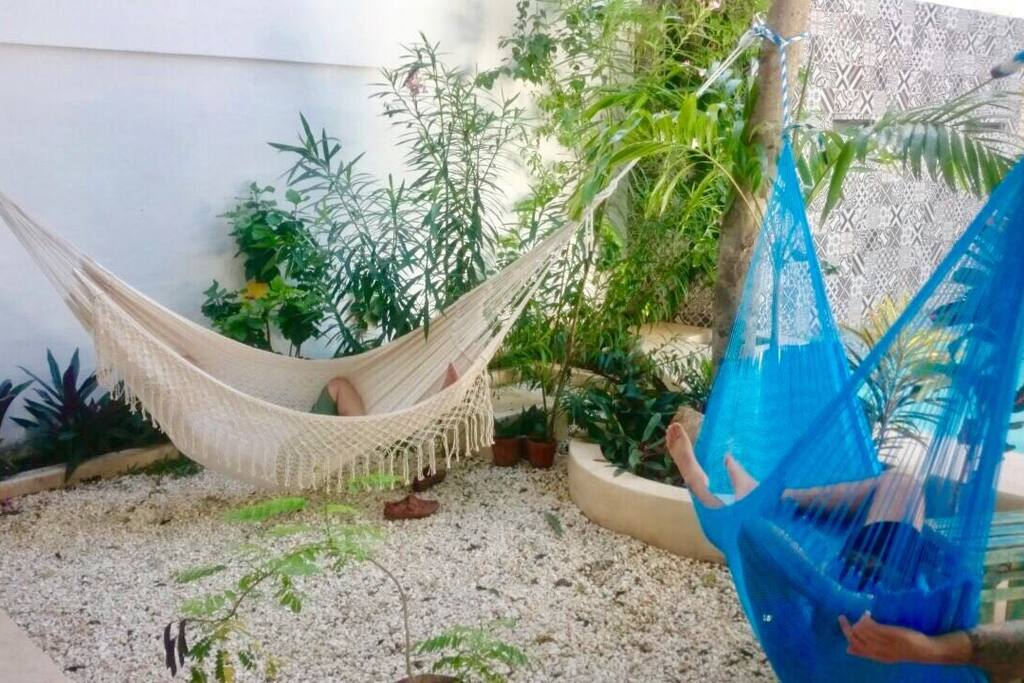 2 Hammocks - full size - Removable