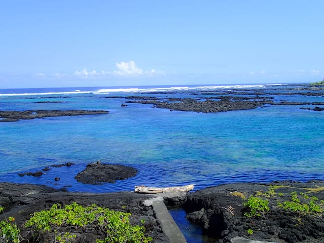 Hale Hui - Amazing Snorkeling, Kapoho Oceanfront