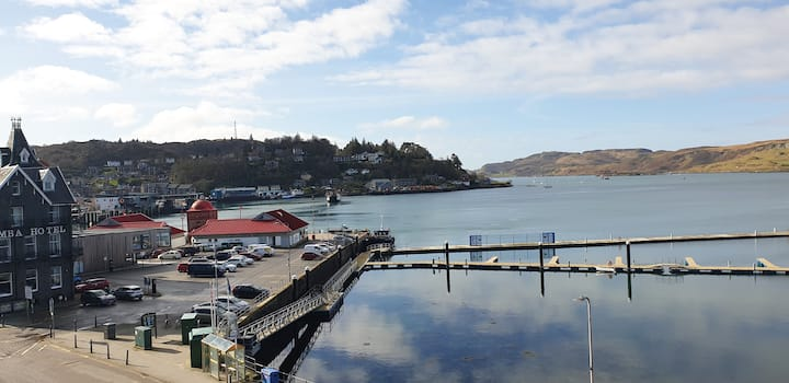 The Editor's Choice, Oban seafront apartment