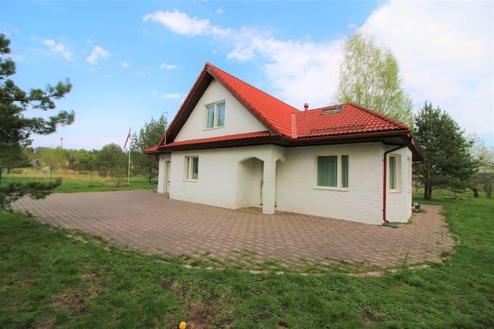 Dream Party House with sauna- 20 min Riga, Jurmala