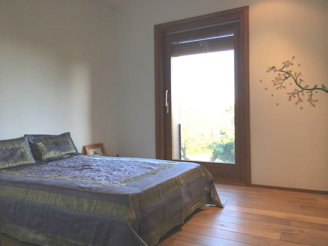 Double room - Beach, nature & relax -20' Barcelona