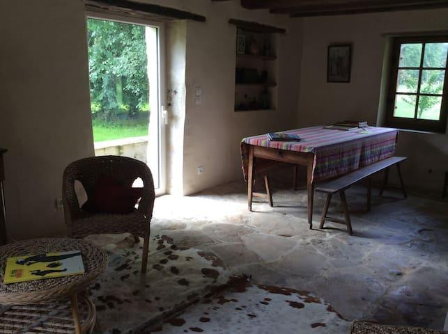Chambres dans gîte campagne sarthoise - Roézé-sur-Sarthe - House