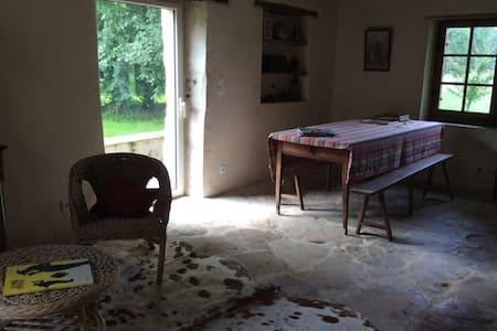Chambres dans gîte campagne sarthoise - Roézé-sur-Sarthe - Hus