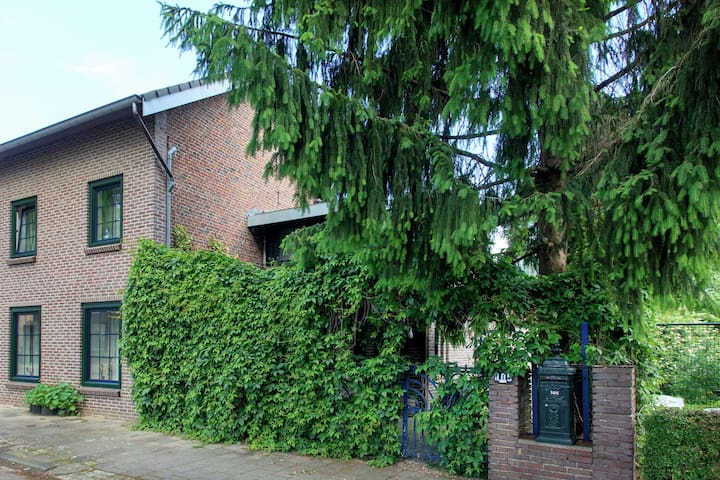 Cozy apartment with royal roof terrace, nearby Valkenburg, Aachen and Maastricht