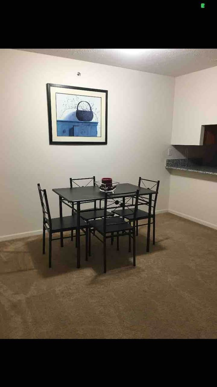 Ft Riley Bedroom Furnished Apt -Junction City