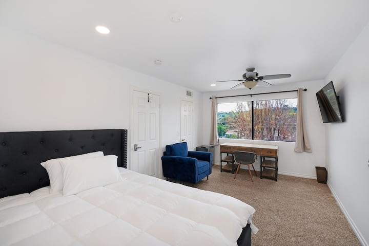 Lux Large Private Master Suite with View