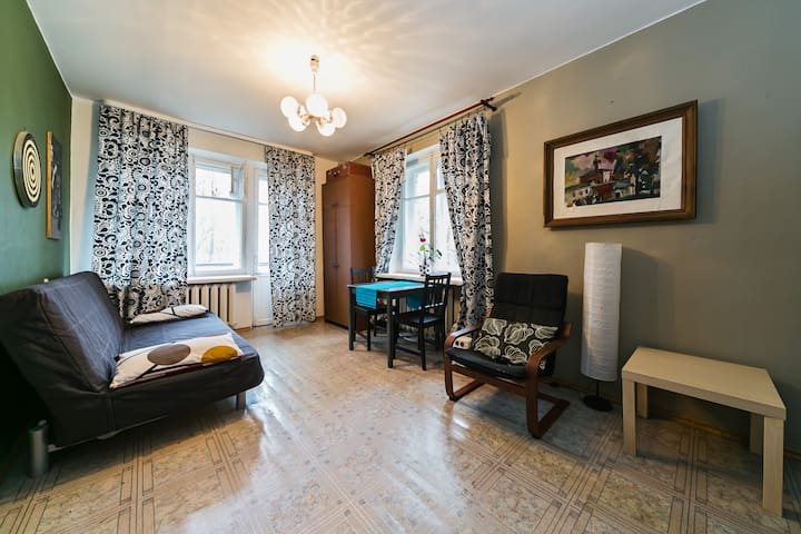 One bedroom flat near Petrovsky park. - Moskva - 公寓