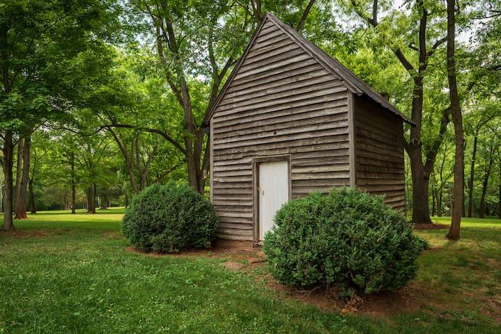Original smokehouse listed on National Register