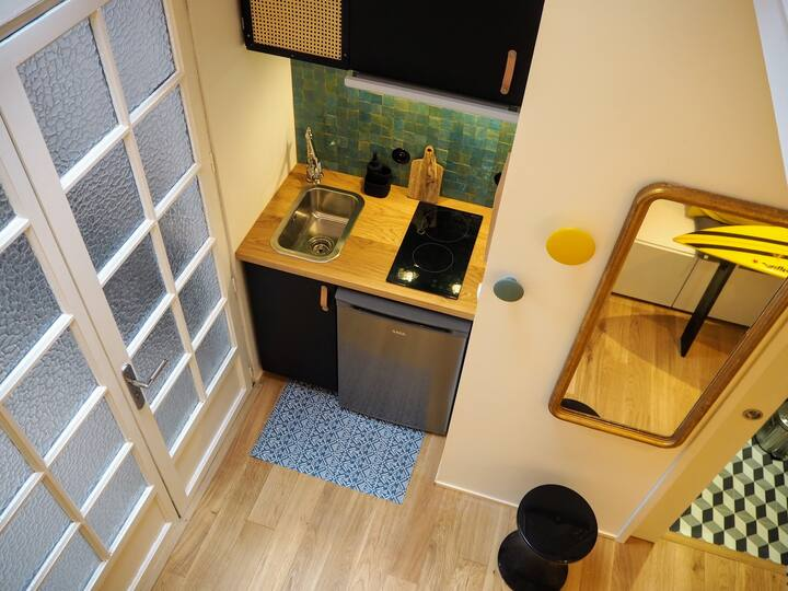 La plus petite maison de Biarritz 300 m des Halles
