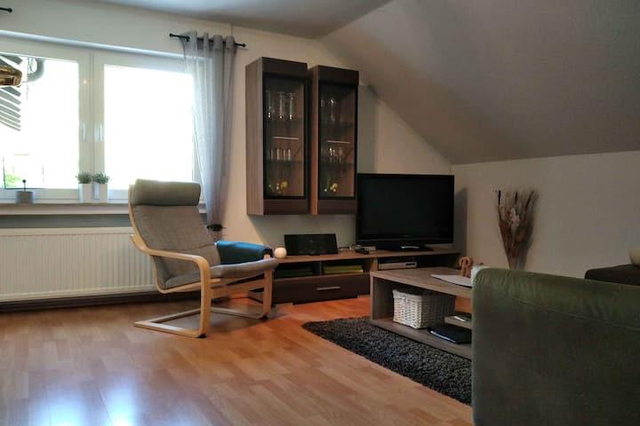 Ferienwohnung Zweite Heimat, (Schmallenberg), Zweite Heimat, 65qm, 1 Schlafzimmer, max. 3 Personen