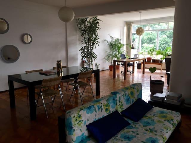 Sunny apartment in Roma.