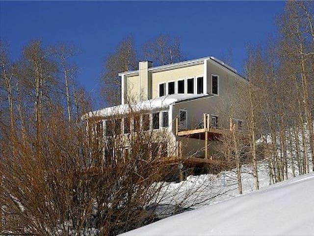 5,000 sq.-ft. ski-in/out with views - Mount Crested Butte