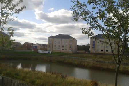 ground floor apt. in modern block - North Lanarkshire