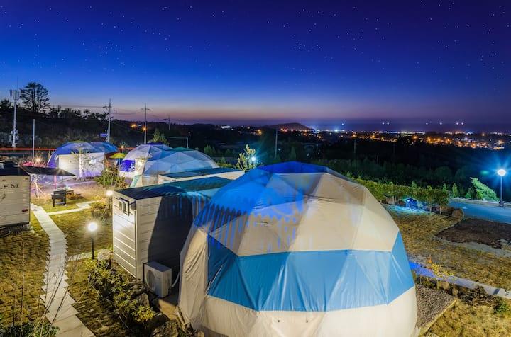 제주 별헤는밤 돔룸2 Jeju Starlight Glamping Dom Room 2