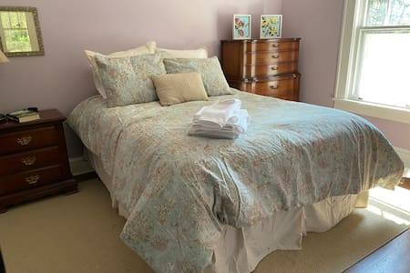 Alamance House, Lovely Guest Bedroom, renovated