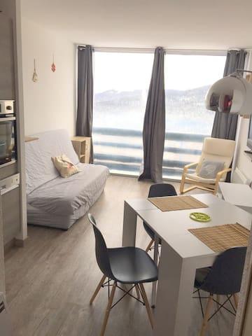 Bel appartement renové aux pied des pistes - Lavelanet - Pis