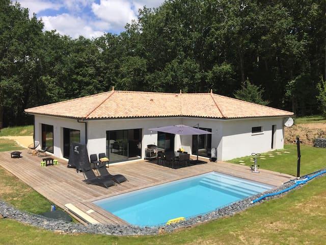 maison moderne avec piscine - Bergerac - Villa