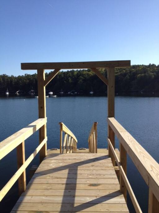 Dock and Float - great for fishing and sunbathing