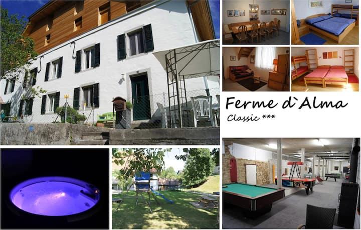 """LA FERME D`ALMA - Apartment """"Classic"""""""
