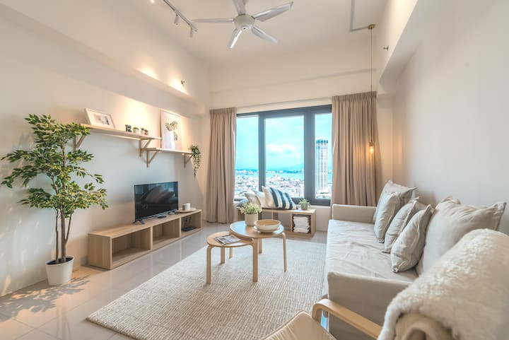 2BR Georgetown Macalister Super View